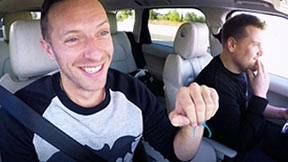 Carpool Karaoke With Chris Martin