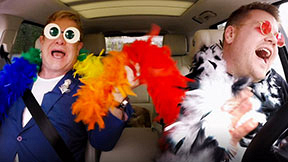 Carpool Karaoke With Elton John