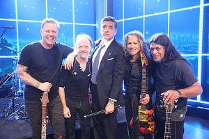 14 Moments from Metallica\'s Weeklong Residency on The Late Late Show