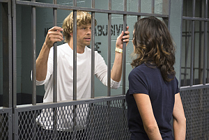 First Look: Deeks Behind Bars