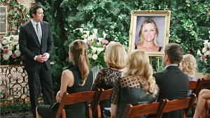 Y&R Recap: Nick Is Overcome With Grief At Memorial
