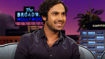 5 Things We Learned From Kunal Nayyar's Late Late Show Appearance