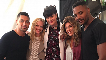 NCIS Stars Share Photos On Set From Upcoming Season 14