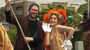 7 Crosswalk The Musical GIFs Proving Seth Rogen Is King Of Low-Energy
