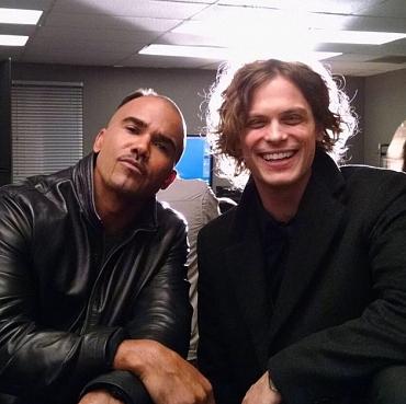 Shemar Moore and Matthew Gray Gubler\'s Moments of Friendship