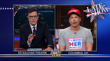 Stephen Questions An Undecided Voter On The Late Show