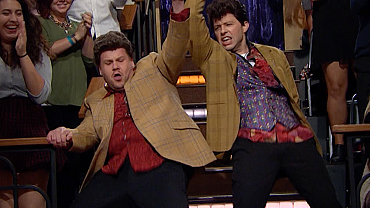 Watch This Monster Mashup Of James Corden's Best Dance Moments So Far