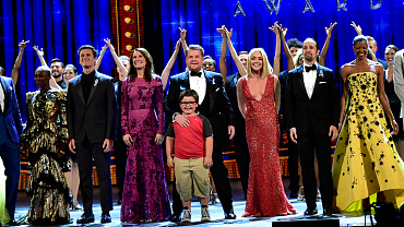 2016 Tony Awards: James Corden Serves Up Ultimate Broadway Mashup