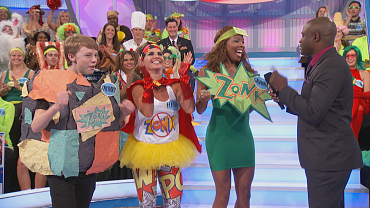 Some Of The Best Costumes On Let's Make A Deal This Season