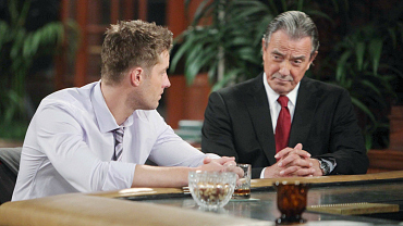 Y&R Flashback: Adam And Victor\'s Tumultuous Past