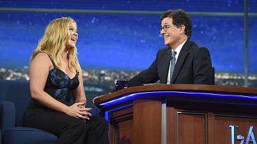 Amy Schumer Shares Her Tattoo Regrets On The Late Show
