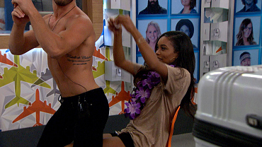 Paulie Gives Zakiyah A Sexy Lap Dance For Her Birthday