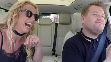 Oops, Corden Teased It Again With A Peek At Britney's Carpool Karaoke