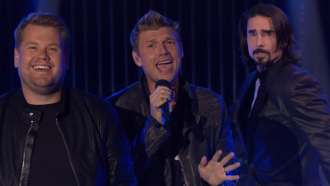 James Corden Became The Sixth Member Of Backstreet Boys For One Night