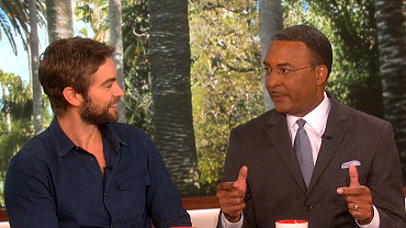 The Talk: Chace Crawford Makes A Football Bet Close To Home