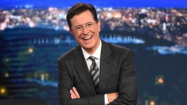 Stephen Colbert Shaves After Two-Week Vacation