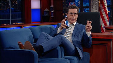 Stephen Colbert Had A Long Night