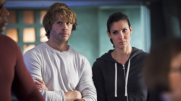 Eric Christian Olsen And Daniela Ruah Swapped Faces At Comic-Con And It Was Glorious
