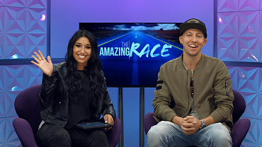 Watch Dana And Matt, Winners Of The Amazing Race, Answer Fan Questions