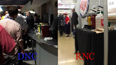 The Colbert Condiment Cam: RNC Vs. DNC
