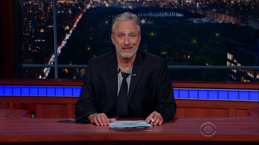 Jon Stewart Takes Over The Late Show