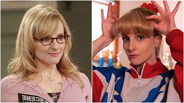 See Melissa Rauch Like You've Never Seen Her Before