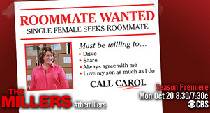 Roommate Wanted...Roommate Found: Carol's Moving Across The Hall