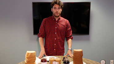 Adam Pally Took The Late Late Show's Cutthroat PB&J Challenge