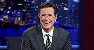 Stephen Colbert Returns To Host \