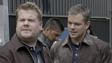 James Corden Played Matt Damon's Stuntman In New Jason Bourne Movie