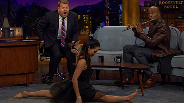 For Lucy Liu, Doing The Splits Is Elementary