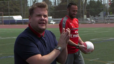 James Corden Taught Arsenal F.C. Some Inspired New Celebrations