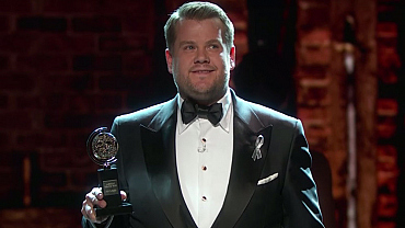 James Corden's Best Moments From The 2016 Tonys
