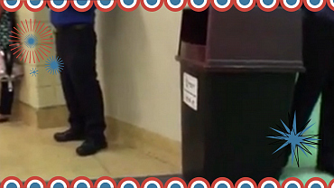 The Late Show Live Stream Of The RNC Garbage Can