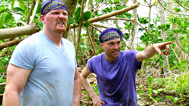 David Wright Gets An Earful During His First Days On Survivor