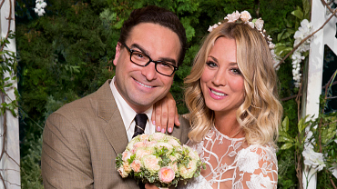 Penny And Leonard Get Married Again On The Big Bang Theory Season 10 Premiere