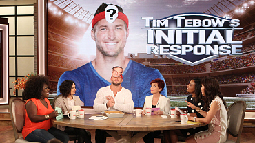 Tim Tebow Plays A Challenging Guessing Game On The Talk