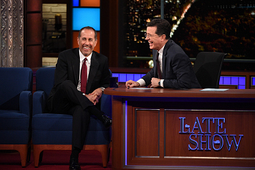 Photos Of Jerry Seinfeld And More On The Late Show