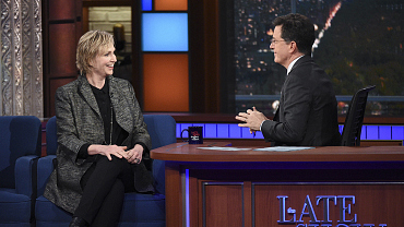 Photos Of Jane Lynch And More On The Late Show