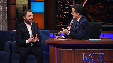 Photos Of Charlie Day And More On The Late Show