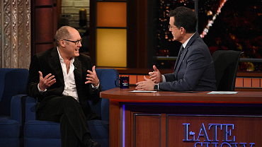 Photos Of James Spader And More On The Late Show