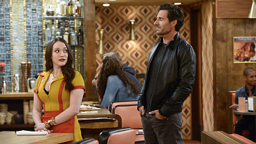 First Look: Caroline Tries To Protect Max From Her Ex On 2 Broke Girls