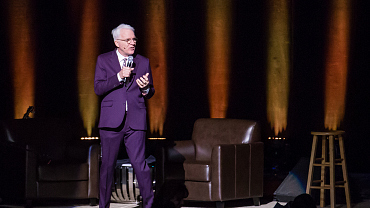 Steve Martin, John Oliver Announced As Late Show Guests