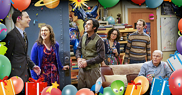 Please RSVP To The Birthday Extravaganza Of One Sheldon Cooper On The Big Bang Theory