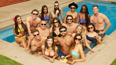 Big Brother Season 18 Houseguests Test Drive Their Swimwear In The BB Backyard