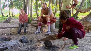 A Smoky Sabotage Leads The Way To A Shocking Tribal On Ep. 9