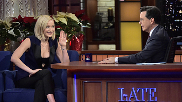 Photos Of Jennifer Lawrence And More On The Late Show