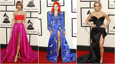 GRAMMYs 2016 Red Carpet: 8 Of The Night's Biggest Fashion Trends