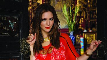 Katharine McPhee Sizzles In Southeast Asia