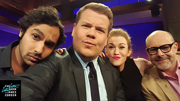 See All Of James Corden's Selfies With His Guests From Season Two